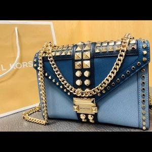 New $358 Michael Kors Whitney Handbag MK Purse Bag